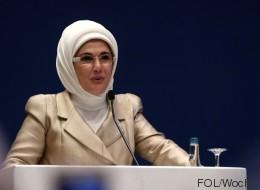Diese unangenehmen Details über seine Frau konnte Erdogan nicht verheimlichen