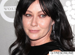 Las duras fotos de Shannen Doherty (Brenda en 'Sensación de vivir') rapándose por su cáncer
