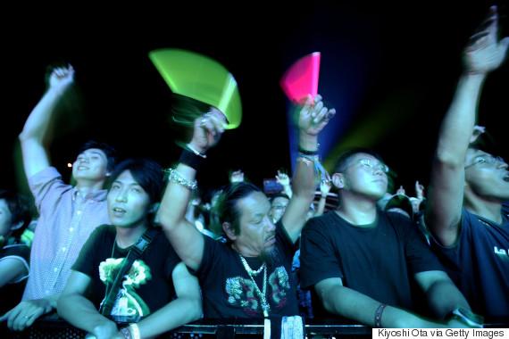 rock festival japan