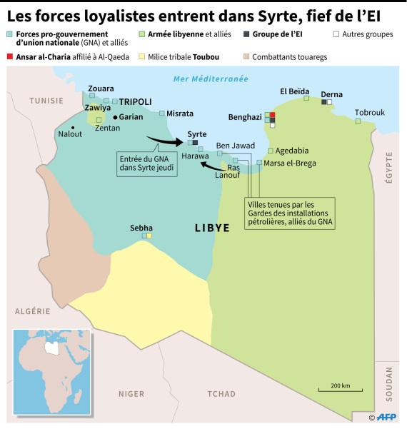 etat islamique libye