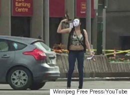 Winnipeg Girl Arrested After Reports Of Masked Person Waving Gun