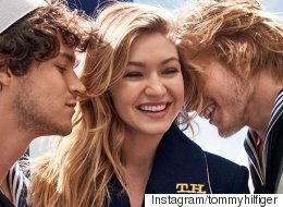 Gigi Hadid's First Tommy Hilfiger Ad Is Here