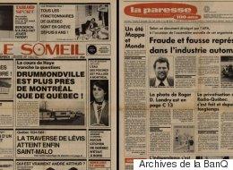 Il y a 33 ans, ce magazine a parodié le Journal de Montréal