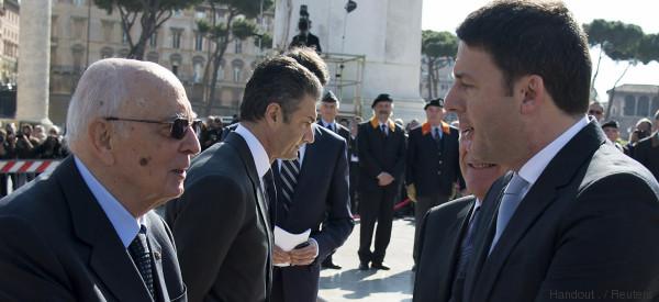 Matteo Renzi resta scettico sulla modifica dell'Italicum, malgrado Napolitano...
