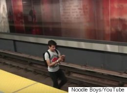Genius On Toronto Subway Tracks Could Be Charged For Pokemon Video