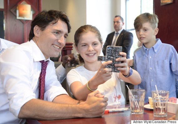 justin trudeau child