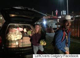 The Calgary Stampede Wrangled A Tonne Of Leftovers From The Trash