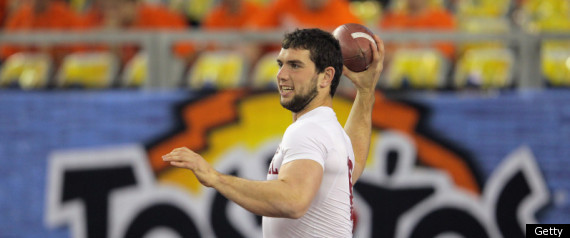 FIESTA BOWL LIVE ANDREW LUCK