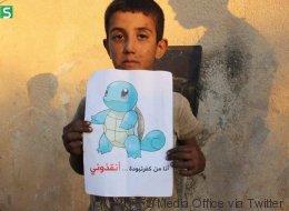 La référence émouvante à Pokémon Go d'enfants syriens