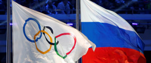 RUSSIA OLYMPICS FLAGS
