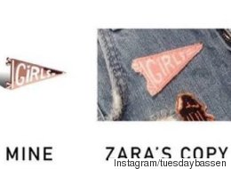 Zara Accused Of Stealing Independent Artist's Designs