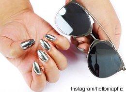 Les ongles miroir affolent Instagram