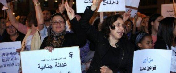 MANIFESTATIONS DROITS FEMMES MAROC