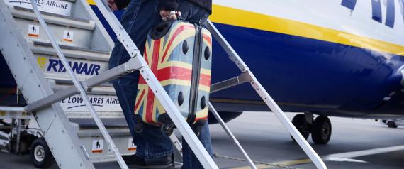 BRITISH FLAG SUITCASE