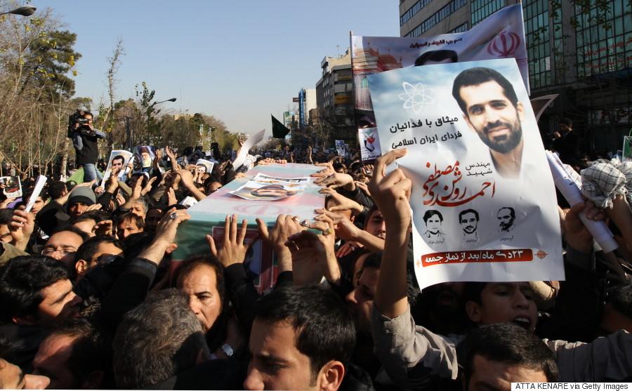 iranian scientists killed