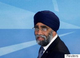 Sajjan Comes To Canada's Defence After Trump's NATO Comments