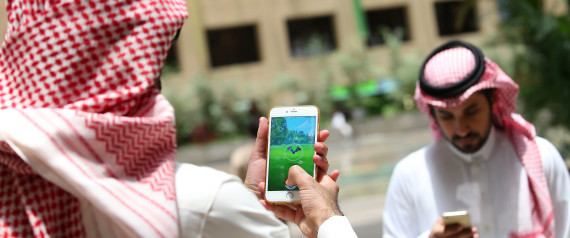 POKEMON IN SAUDI ARABIA