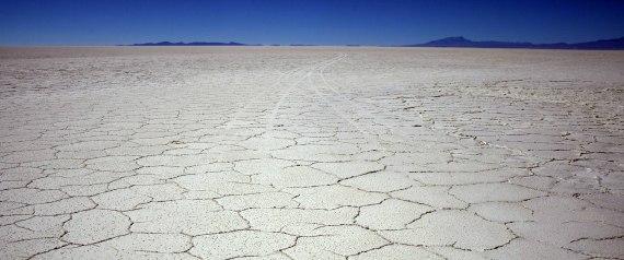 CAMBIO CLIMTICO SUELO DEL DESIERTO