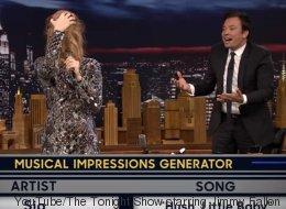 Céline Dion qui «twerke» et qui imite drôlement Sia avec Jimmy Fallon! (VIDÉO)