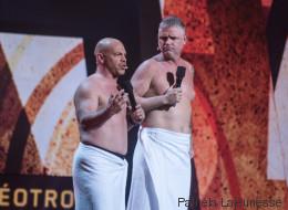 Gala Martin-Paquet: Mike Ward accueilli en roi (PHOTOS)