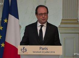 Toutes les annonces de François Hollande après un conseil de Défense