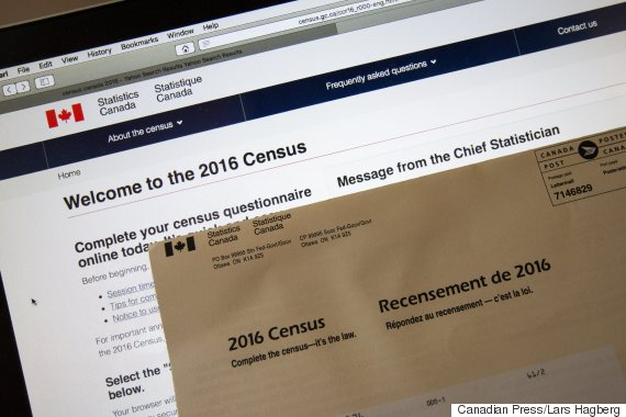 census canada questionnaire