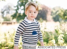 Adorable Photos Mark Prince George's Third Birthday