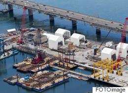 L'évolution du chantier du pont Champlain vue des airs (PHOTOS)