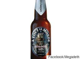 Unibroue s'associe à un groupe mythique pour lancer une nouvelle bière