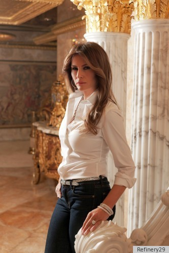 Melania Trump Shows Her Jewelry Line Penthouse