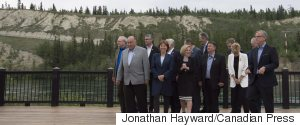 PREMIERS MEETING WHITEHORSE