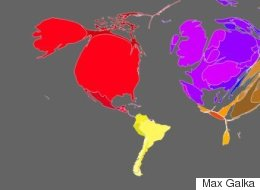 The World Looks Very Different When Mapped By Wealth