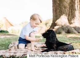 Royals Accused Of Animal Cruelty Over Prince George Photo