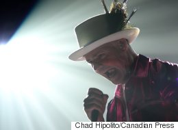 Gord Downie Full Of Energy For The Hip's Last Tour, Fans Say