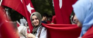 Berlin Demonstration Tuerkei Erdogan