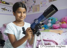 8-Year-Old Aspiring Astronaut Impresses Innovation Minister
