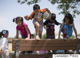 Syrian Refugee Kids Are Taking Canada 101 At Summer Camp