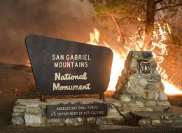 Violents feux de forêts en Californie