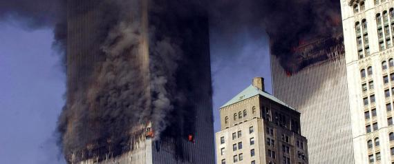 THE BOMBING OF THE TWIN TOWERS OF THE WORLD TRADE