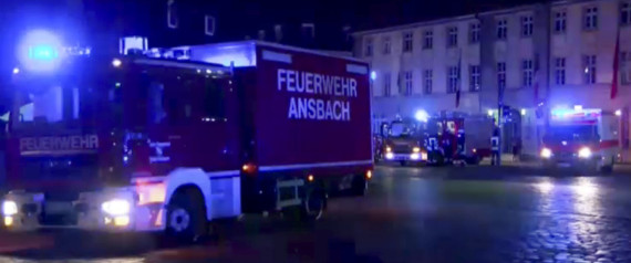 EXPLOSION ANSBACH ALLEMAGNE