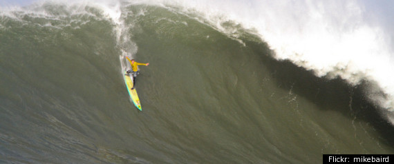 Mavericks Surf 2012