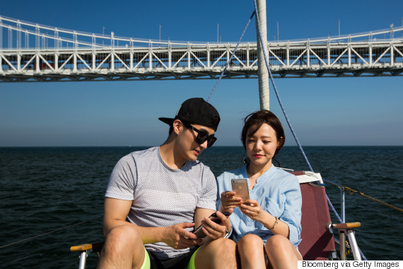 lover smartphone