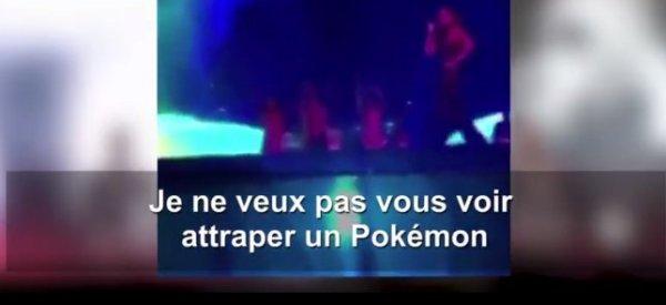 Ne vous avisez pas de jouer à Pokémon Go au concert de Rihanna ce soir