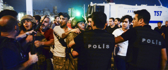 ARRESTED IN TURKEY