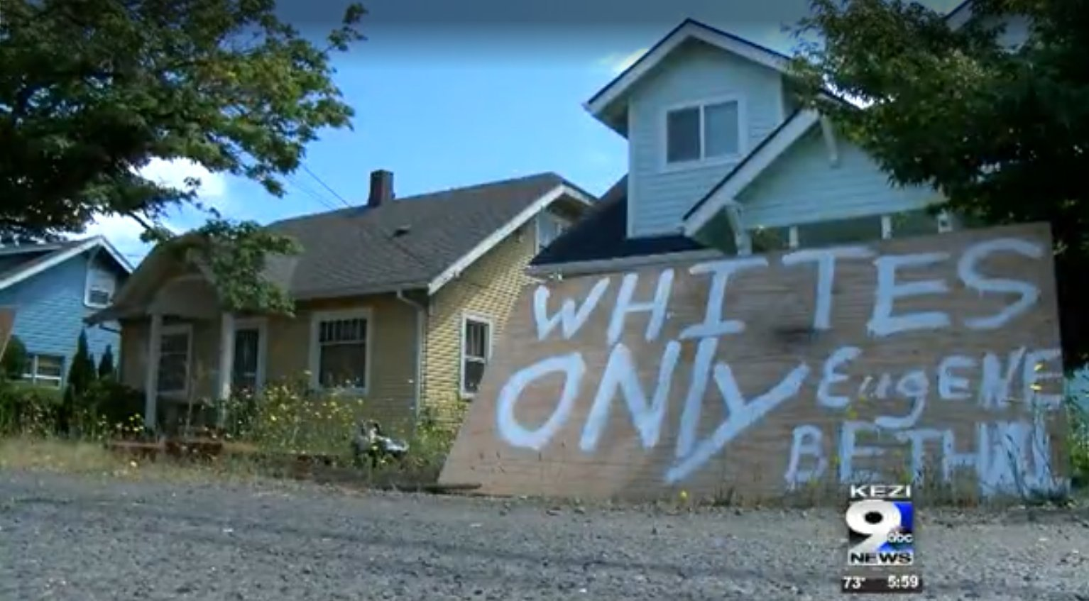 whites only house for sale