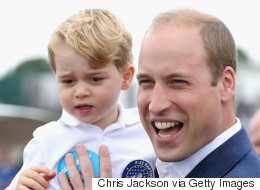 Even Prince William Admits George Is Spoiled