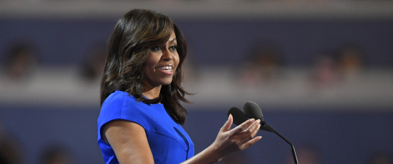 MICHELLE OBAMA CONVENTION DEMOCRATE