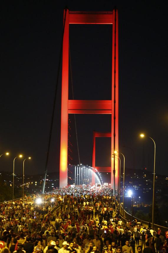 pont du bosphore turquie