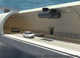 La Norvège pourrait expérimenter les tunnels... flottants! (VIDÉO)