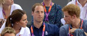 WILLIAM KATE HARRY OLYMPICS